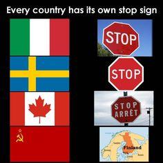Tag a stop sign.#meme #memes #suomi #meemit #meemi #finnish #finland #dank #interesting #youtube #followme #follow #funnymemes #funny #jokes #lol #comic #comedy #haha #joke # #savage #famous #branding #funnyvideo #vegan #fitness #healthy #thisisfinlandofficial #healthylifestyle Funny Gags, Funny Memes, Funny Humour, Jokes, Finnish Memes, Photo To Video, Haha, Funny As Hell, Cyberpunk 2077