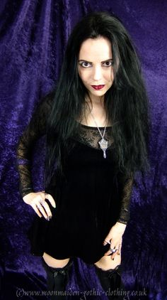 Juliette Mini Dress by Moonmaiden Gothic Clothing UK. I own this!
