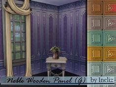 Ineliz's Noble Wooden Panel (G)