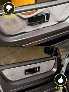 How To Fix Up Your Car's Interior On The Cheap ... several ideas ... repair seats, clean floor console, door panel, carpet, center console, etc. .............. #DIY #car #repair #maintenance #cleaning #seats #spraypaint #togglestarter #windowswitches #fabric #sprayadhesive #liquidcarpetcleaner #plastic #drawerliner #tips #howto