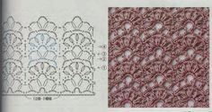 Ivelise Feito à Mão: Lindo Ponto Fantasia Em Crochê