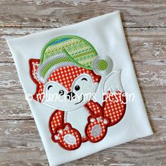 Hey, I found this really awesome Etsy listing at https://www.etsy.com/listing/168812454/mister-jolly-santa-fox-applique