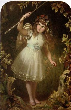 bumble button: Romantic Victorian 19th century paintings of ...