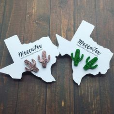 The Twisted Chandelier ~ Products ~ MeccaFox Cactus Stud Earrings ~ Shopify