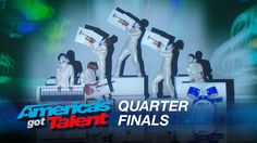 #Siro_A :  #Dance Group Stuns with #Visual Dance Experience -  #AmericasGotTalent