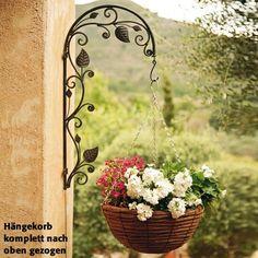 Blumenampel-Halter Blumenzauber - Hängekörbe & Wandhalter von Pötschke Ambiente
