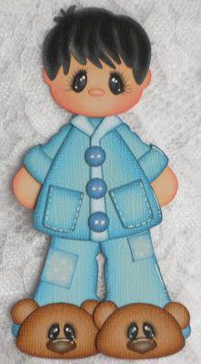 Treasure Tot Mike created by Barbara (Paper Piecing Memories by Babs)
