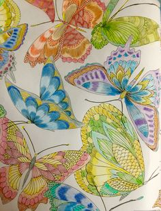 From Tropical World Coloring Book Colored By Ella