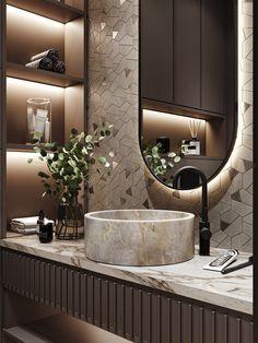 Modern Luxury Bathroom, Small Bathroom Interior, Bathroom Design Luxury, Modern Bathroom Design, Bathroom Ideas, Luxury Bathrooms, Minimalist Bathroom, Budget Bathroom, Washroom Design