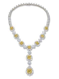 Yellow Diamond Necklace  Christie's