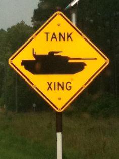 Tank X-ing