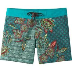 11db2d87f1 Prana Makenna Board Short - Women's Board Shorts Women, Patterned Shorts,  Swimsuits, Swimwear