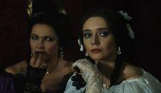 """Scene from a polish movie """"Dama Kameliowa"""""""