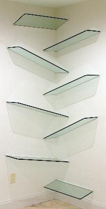 Cool floating shelves
