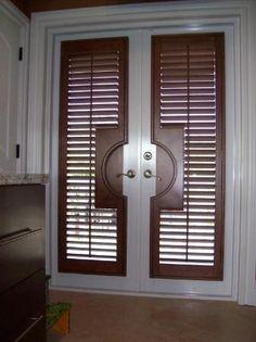 Custom Blinds for French Doors