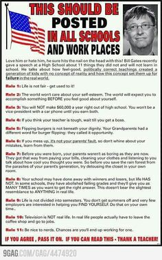If this is actually from Bill Gates, I will have to rethink my position on him because this is AWESOME. I especially love the rainforest comment.