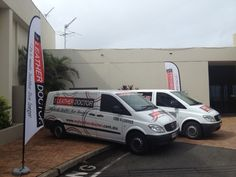 Of our vans at our national conference held in coffs harbour each year