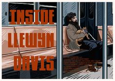 Inside Llewyn Davis by Cody Bond - Home of the Alternative Movie Poster -AMP-