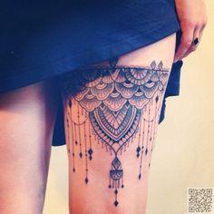 28. #Oberschenkel Tattoo - #Warten, bis Sie diese 28 #schöne…