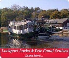 Lockport Locks & Erie Canal Cruises #PerfectDayNF