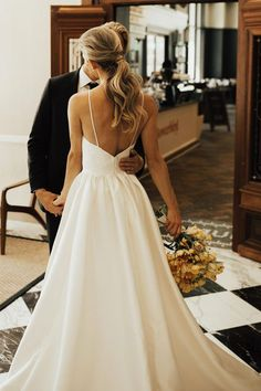 Wedding Robe, Top Wedding Dresses, Fit And Flare Wedding Dress, Cute Wedding Dress, Wedding Dress Trends, Bridesmaid Dresses, Wedding Ideas, Wedding Hacks, Lace Wedding
