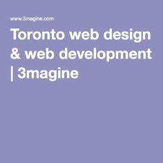 Toronto web design & web development   3magine