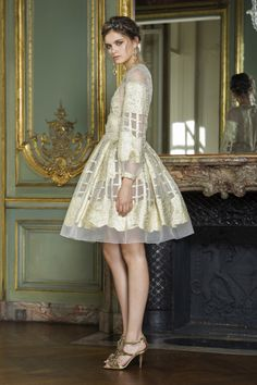 aclockworkpink:Alberta Ferretti, Couture, Fall 2015