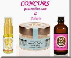 Ce vor fetele: Concurs SOLARIS: 3 uleiuri miraculoase pentru voi