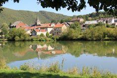 Photo : La vallée de la Meuse par la Voie Verte de Charleville à Chooz,  France, Paysages, Villages, Laifour. Toutes les photos de jean claude Bauduin sur L'Internaute
