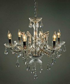 This Six-Light Chandelier is perfect! #zulilyfinds $149.99
