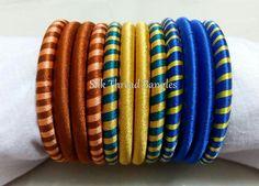 Silk Thread Bangles Design, Silk Bangles, Thread Jewellery, Indian Bangles, Bangles Making, Jewelry Making, Jewelery, Handmade Jewelry, Blog Topics