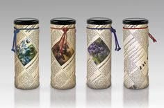 Bakonybél jam containers. I foresee jam-stained wrists, but still pretty packaging. psx.