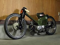 RadJalopy: EASY TRAP (seriously modded Honda Super Cub)