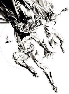 Batman and Robin by Doug Braithwaite *
