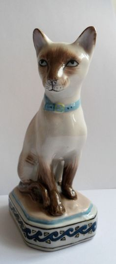 Clare McFarlane Living Ceramics art pottery Smudge CAT sculpture RARE! Description from pinterest.com. I searched for this on bing.com/images