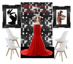 A home decor collage from October 2016 featuring white kitchen chairs, coat rack and white evening gowns. Browse and shop related looks. Decoration, Formal Dresses, Polyvore, Stuff To Buy, Shopping, Collection, Women, Fashion, Decor