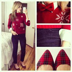 I really am jealous of her beautiful sweaters! @Karla Pruitt Pruitt Reed