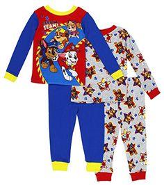 1ad22bab0 Pijamas Infantis, Patrulha Da Pata, Caixas De Brinquedo, Conjunto De  Pijama, Frentes