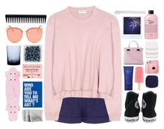 """Just gonna keep on daydreaming"" by cjcstyle ❤ liked on Polyvore featuring Diane Von Furstenberg, Acne Studios, Converse, philosophy, Fujifilm, Serapian, By Nord, COVERGIRL, GHD and Polaroid"