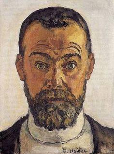 Ferdinand Hodler, Autoportrait.