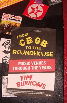 Image result for from cbgb to the roundhouse