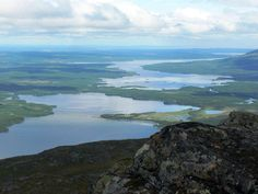 From the top of Ottfjället
