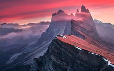 Breathtaking Photos of Odle, in the Dolomites Mountain Range of Italy - My Modern Met