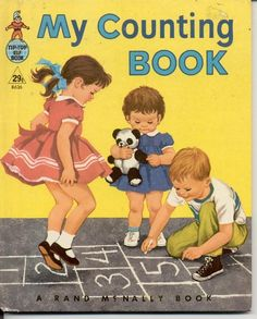 My Counting Book-Rand McNally Tip Top Elf Book