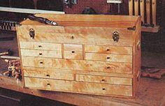 projeto gratuito no blog> Ah! E se falando em madeira...: Gaveteiro 9 gavetas para ferramentas