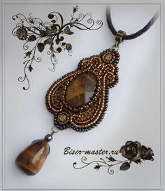Pattern bijoux: Ciondolo Giglio d'oro