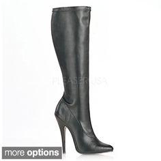 Shop for Pleaser Women's 'DOMINA-2000' Stiletto Heel Knee-high Boots. Get free…