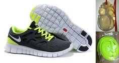 gesund Nike Free Train Instinct Sportschuhe in Schwarz