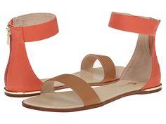 Yosi Samra Cambelle 3D Croco Leather Sandal Black/Biscotti - Zappos.com Free Shipping BOTH Ways