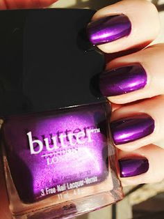 Butter LONDON - HRH (Her Royal Highness) My new favourite.